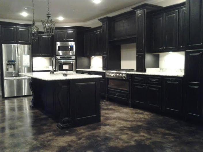 Black Distressed Kitchen Cabinets Gallery, Black Distressed Cabinets Pictures
