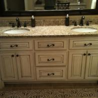 Gorgeous Double Sink Cabinetry