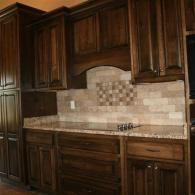 Brown with Backsplash